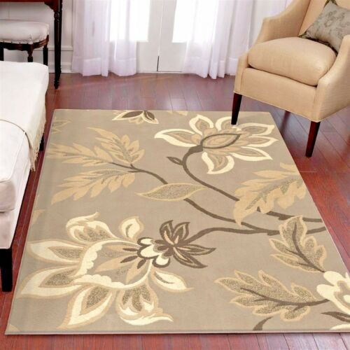 RUGS AREA RUGS CARPETS 8X10 AREA RUG MODERN LARGE GREY FLORAL BIG GRAY COOL RUGS