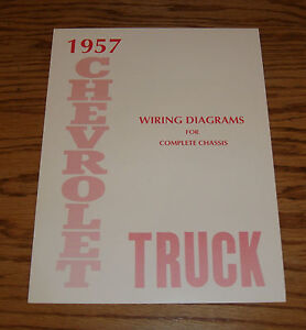 1957 Chevrolet Truck Wiring Diagram Manual for Complete ...