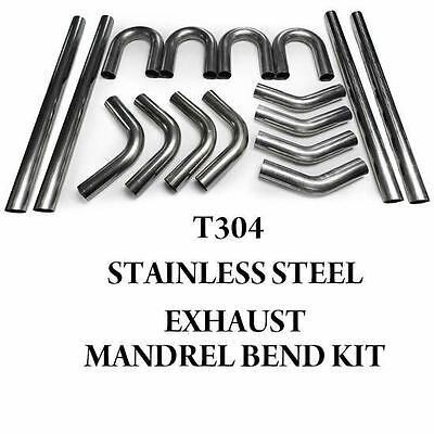STAINLESS STEEL EXHAUST DIY SELF BUILD MANDREL BEND TUBING KIT 45 90 180 DEG