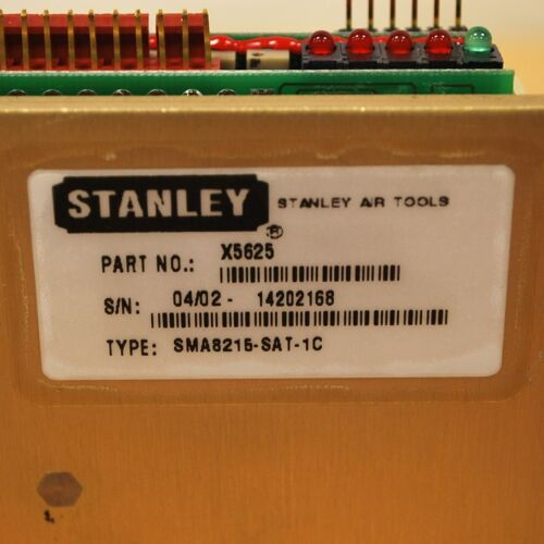 Part#X5625 Servo Amplifier Stanley Type#SMA8215-SAT-1C NEW