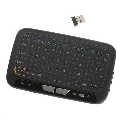 H18 Touchpad Mini Keyboard  Air Mouse 2.4G Wireless for Smart TV Android Box PC