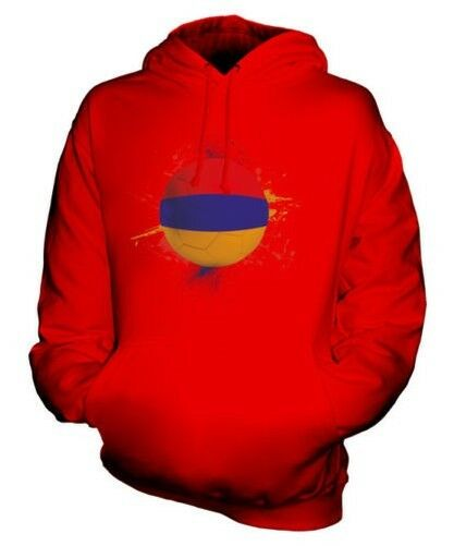 ARMENIA FOOTBALL UNISEX HOODIE TOP GIFT WORLD CUP SPORT