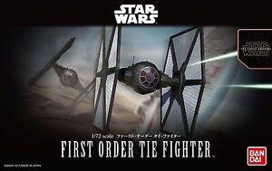 BANDAI-STAR-WARS-MODEL-KIT-first-order-tie-fighter-MAQUETTE-1-72-A-MONTER