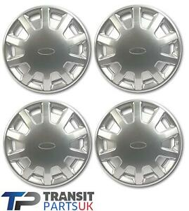 Ford-TRANSIT-MK4-MK5-14-034-Moyeu-Roue-Casquette-Bordure-Set-X-4-Tout-Neuf