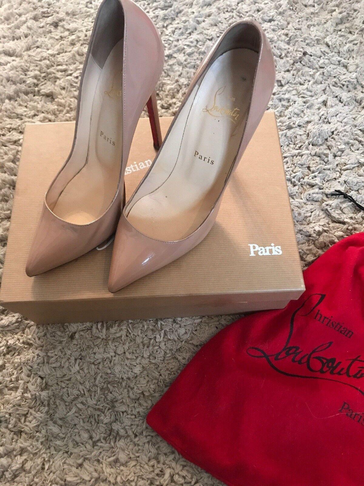 Christian louboutin shoes size 38