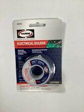 Harris 335192 Silver Bearing Rosin Core Electrical Solder New