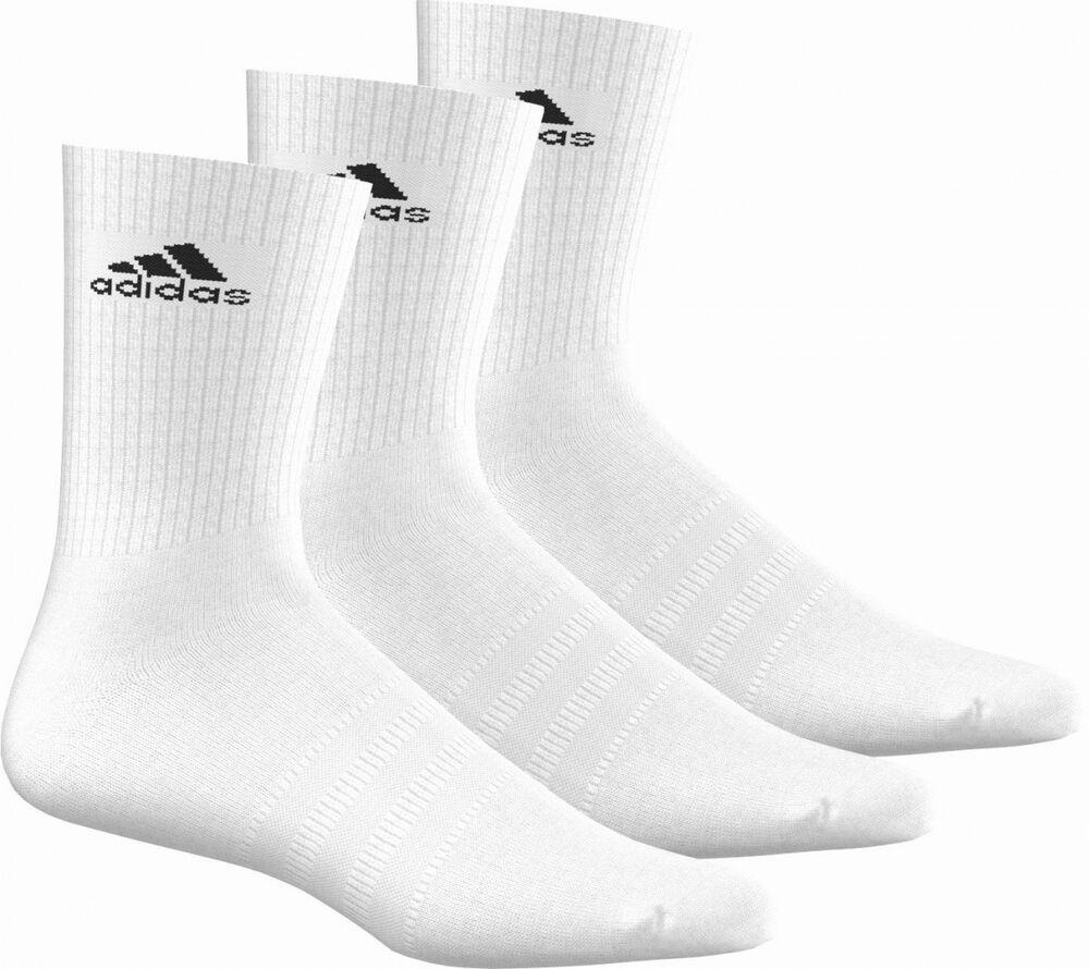 100% De Qualité Adidas Performance Chaussettes 3s Performance Ras Du Cou Hc 3 Certains Blanc Volume Large