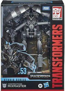 Transformers Studio Series Devastator Mixmaster 53 Bonus Stickers