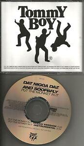Details about Tha Dogg Pound DAT NIGGA DAZ & SOOPAFLY Put Monkey CLEAN &  INSTRUMENTAL PROMO CD