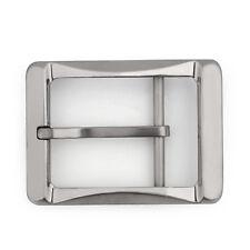 Titanium Ti Belt Buckle Belt Fastener Brushed Finish Nickel Free 34mm US Belt T2