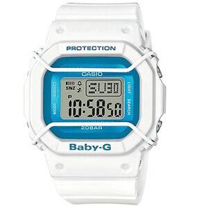 Casio-Baby-G-BGD-501FS-7-White-Blue-Classic-Digital-Women-039-s-Sports-Watch