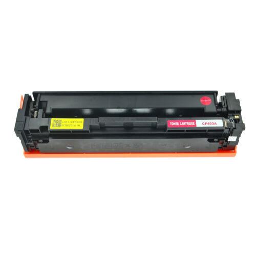BCMY Toners Set For HP 201A CF400A CF401A CF402A CF403A LaserJet M252dw M277dw