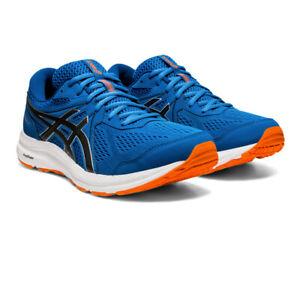 Asics Homme Gel-Contend 7 Chaussures De Course Baskets Sneakers Bleu Sport Respirant