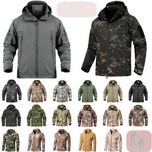 beste Wahl Fang neue Stile Details zu Windbreaker Softshell Jacke Herren Winterjacke kapuzenjacke  Fleece Hoodie Parka