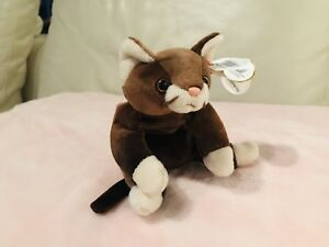 8f1fd1c90d5 Image is loading Retired-Ty-Beanie-Baby-Pounce-the-Cat-1997-