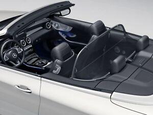 Mercedes Benz Original A 205 C Class Cabriolet Wind Deflector With Bag Black New Ebay
