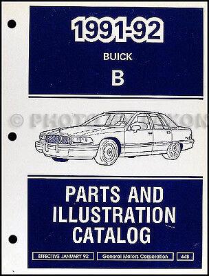 1991 1992 buick roadmaster parts book illustrated catalog sedan and estate wagon ebay 1991 1992 buick roadmaster parts book illustrated catalog sedan and estate wagon ebay