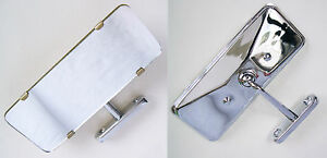 Interior Mirror with Chrome Plated Back, AHH5198C, For MGA & Classic Cars