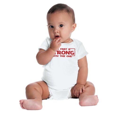 Farting Joke Funny Gross Gerber OnesieNerdy Bathroom Humor Geeky Baby Romper