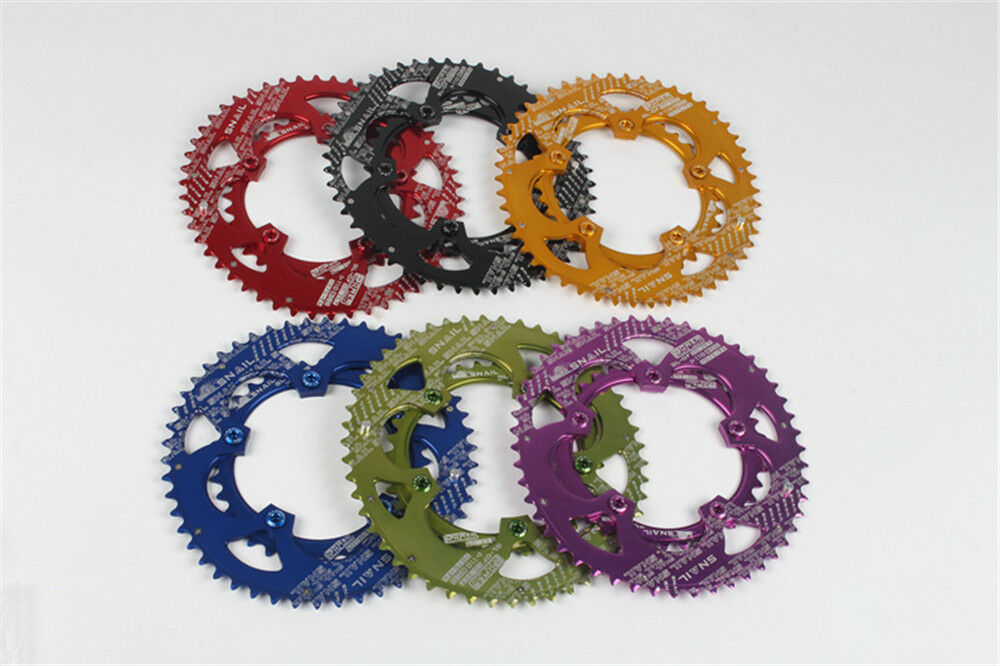MTB Road Bike racing Double oval Chain Ring 35 50T 9-11 speeds 110 BCD Chainring