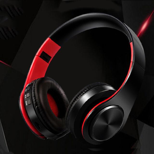 Wireless Bluetooth Foldable Headset Stereo Headphone Earphone for iPhone/Samsung