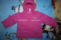 C&A BABY CLUB Regenanzug Matschanzug Regen-Matschjacke Regenjack Gr. 92 rosa NEU