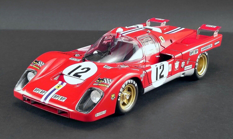 ofreciendo 100% 1971 Ferrari 512M  12 Sam Sam Sam Posey Le Mans 1 18 Acme por Pedido Le MIB-800 + Parts  tienda de descuento