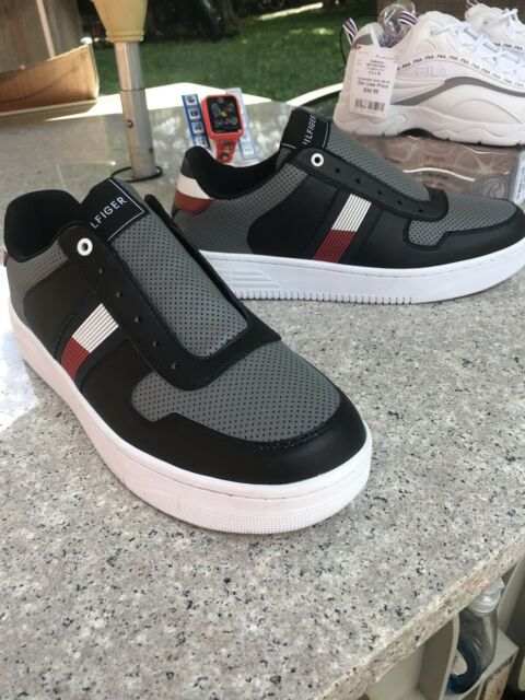 Black Multi Synthetic SNEAKERS Shoes