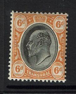 Transvaal-SG-266-Mint-Hinged-Hinge-Remnant-Lot-031017