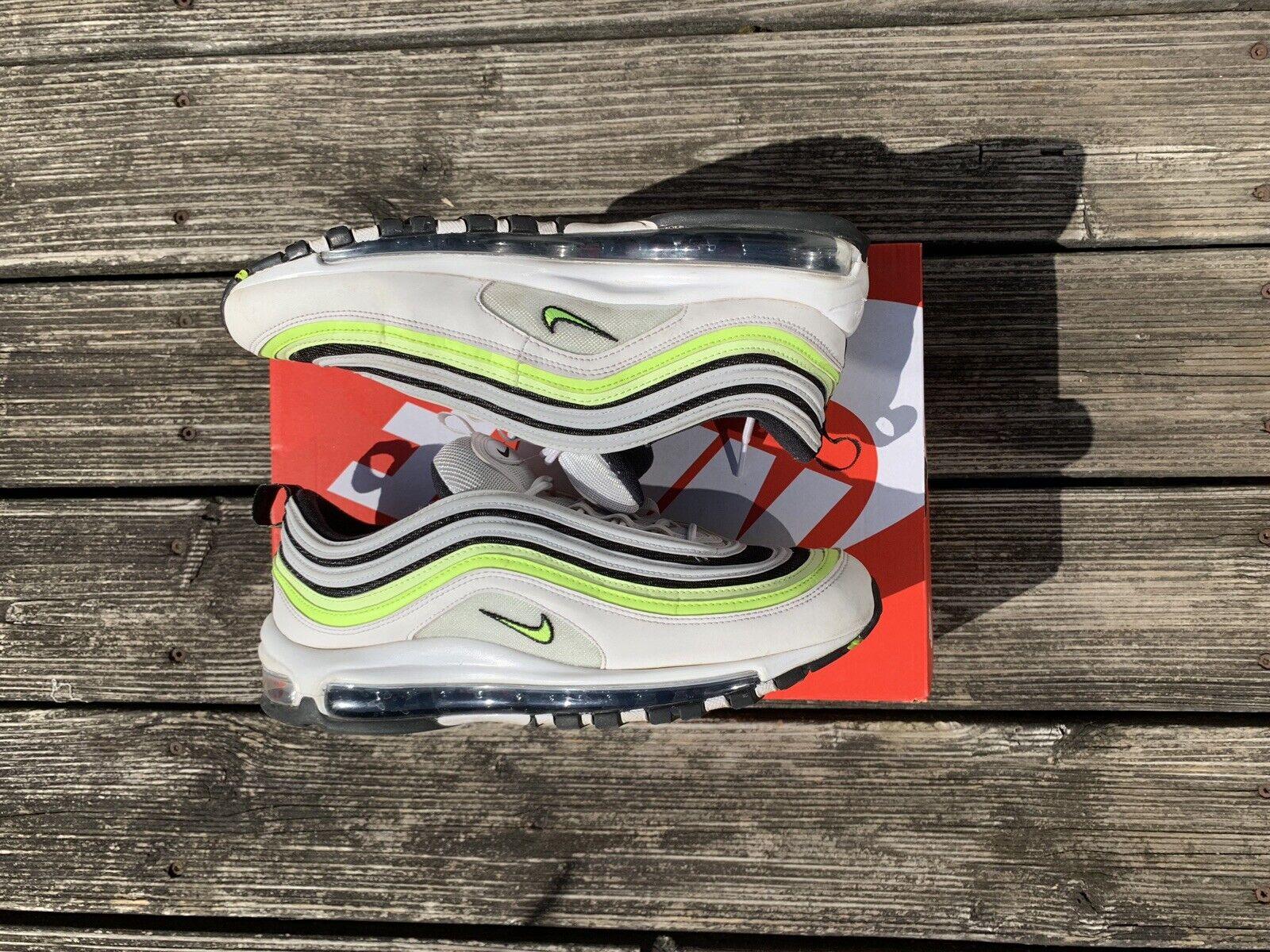 Nike AirMax 97 SE Weiß  Volt 43
