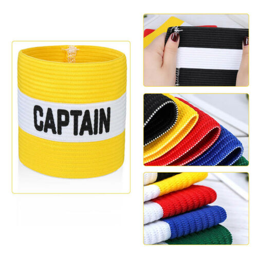 Adult and Kids One Szie SELLING Rugby Captains Armband Football Hockey