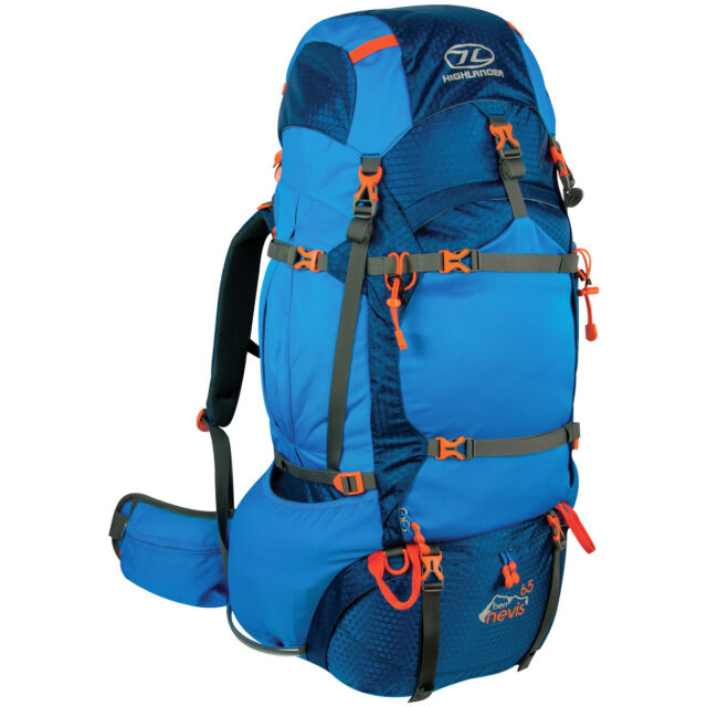 Large 60 Litre Travel Hiking Camping Festival Luggage Rucksack Backpack Bag NEW