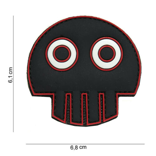 Big Eye Skull PATCH VELCRO logo insigne airsoft paintball