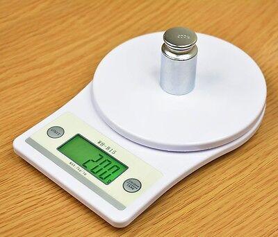 7kg/1g Digital LCD Kitchen Scale Food Diet Postal Balance Weight Gram