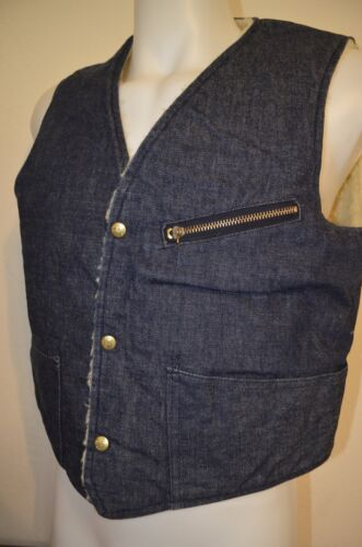 HW Carter Denim Jean Sherpa Lined Jacket Farm Work
