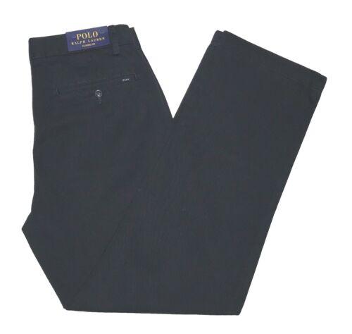 chino Polo Coupe Classique Ralph Pantalons Noir Lauren fYw4Yz