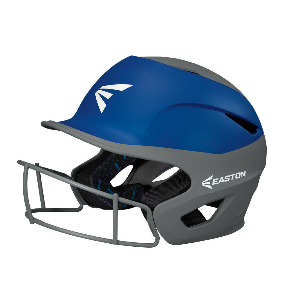 Easton Prowess Fastpitch Softball Batter's Helmet w/Mask A168502 Charcoal/Royal A168502 w/Mask ffae3d