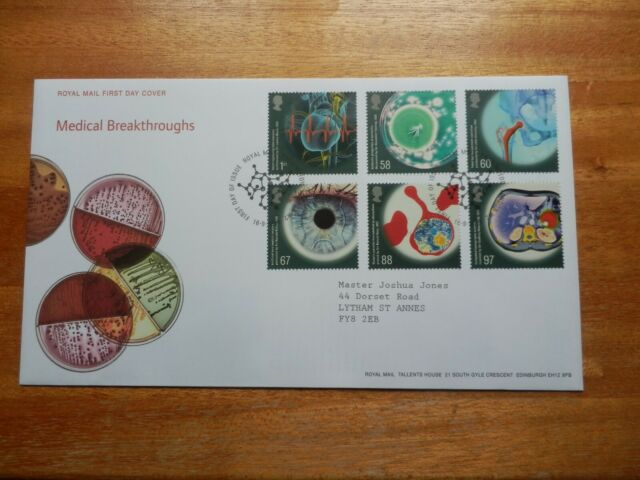 GB Stamps 2010 Medical Breakthroughs First Day Cover