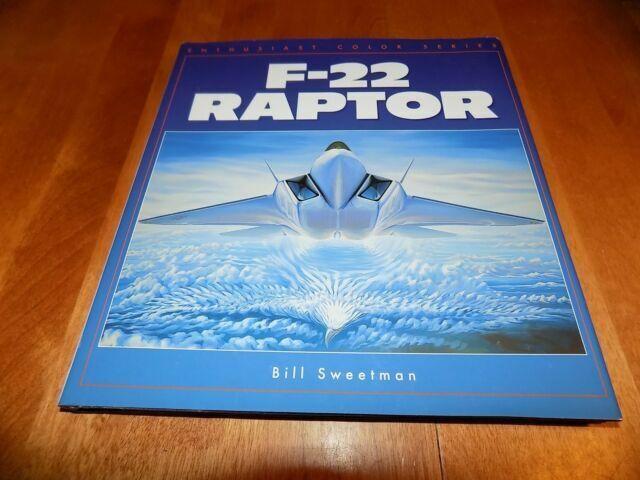 F 22 Raptor 1998 By Bill Sweetman 0760306788 For Sale Online Ebay