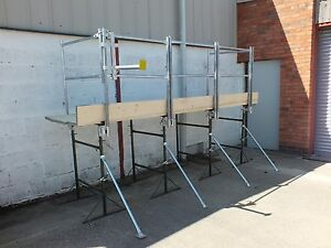 12' Trestle Handrail System ( Made in UK)  Use with builders trestles
