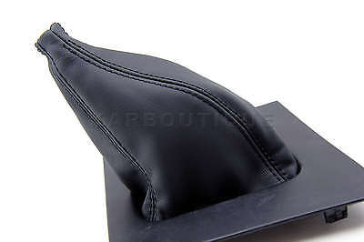 Shift Boot Manual Leather For 87-93 Ford Mustang Black