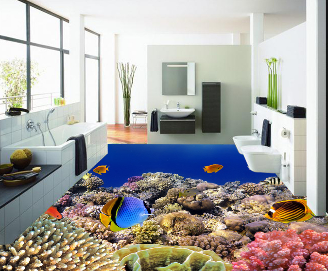 3D Koralle Schalen 427 Fototapeten Wandbild Fototapete Tapete Familie DE Lemon
