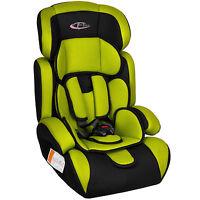 TecTake 400573 - Gr?n/Schwarz Kindersitz Auto-Kindersitze