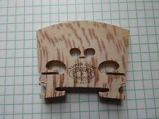 Aubert un puente de violín Mirecourt Super Luxe 4/4 Stock Vintage Muy Raro En Blanco