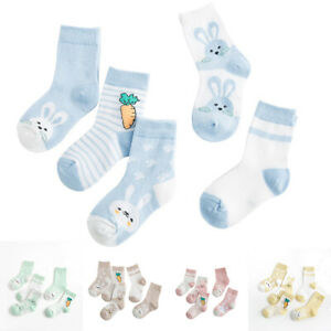 NEW Ellen Degeneres 3D Rattler Bunny Head Animal Socks 0-6 Months cotton