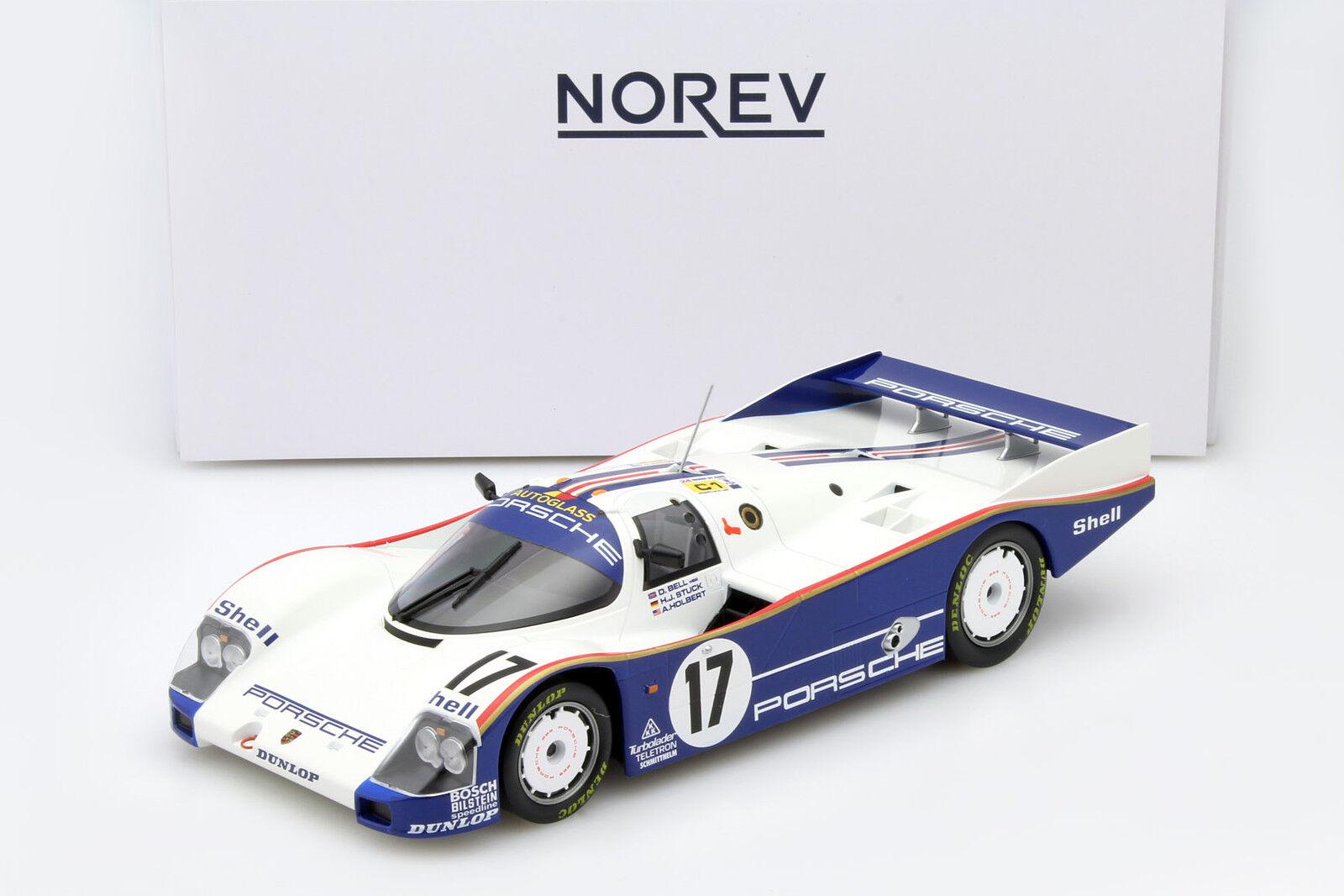 Porsche 962c  17 winner 24h LEMANS 1987 stuc, Bell, Holbert 1 18 NOREV