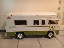 Old Vtg TONKA Winnebago Camper Vehicle Pressed Steel Plastic Toy
