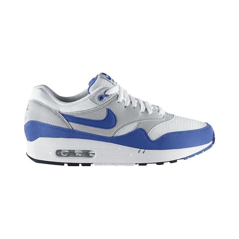 2009 Nike Air Max 1 QS OG Varsity bluee White Grey Black 378830-141 NIB Mens Sz 8