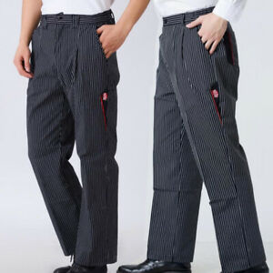 Details About Chef Pants Restaurant Hotel Uniform Kitchen Trousers Work Wear Unisex