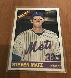 2015-Topps-Heritage-High-Number-Steven-Matz-RC-630-New-York-Mets